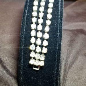 Vintage Coro Rhinestone Bracelet